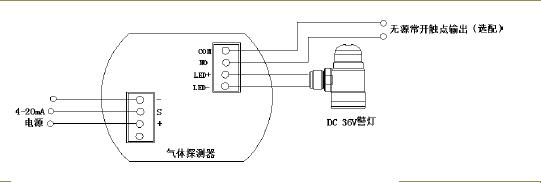煤气盲板阀的电路图纸